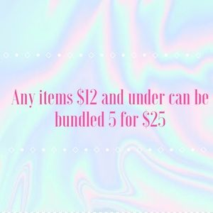 5 for $25!! Bundle now 🛍